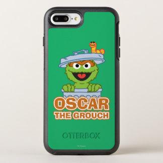 Oscar o estilo do clássico do Grouch Capa Para iPhone 7 Plus OtterBox Symmetry