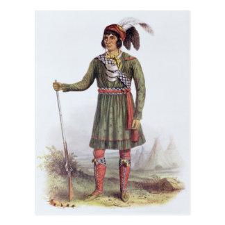 """Osceola ou """"ascensão Sun"""", um líder do Seminole Cartão Postal"""