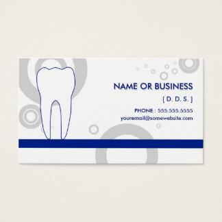 ósmio do dentista cartão de visitas