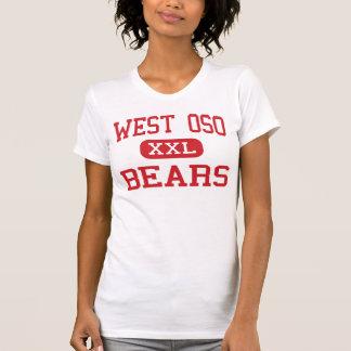 Oso ocidental - ursos - meio - Corpus Christi Texa Camiseta