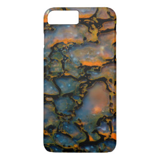 Osso de dinossauro Petrified alaranjado Capa iPhone 8 Plus/7 Plus