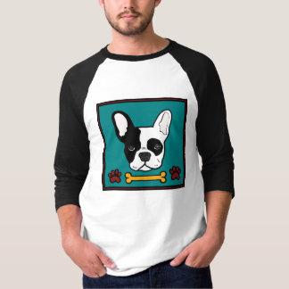 Osso do buldogue francês camiseta