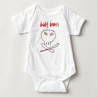 ossos do bebê camiseta