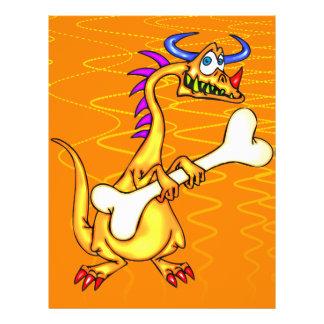 Ossos do dragão panfleto