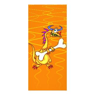 Ossos do dragão 10.16 x 22.86cm panfleto