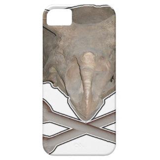 Ossos transversais do crânio n do Triceratops Capa Barely There Para iPhone 5