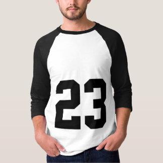 Ostenta o número do jérsei a camisa | de 23 t