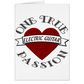 OTP Guitarra elétrica Cartao
