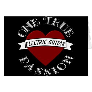 OTP Guitarra elétrica Cartão