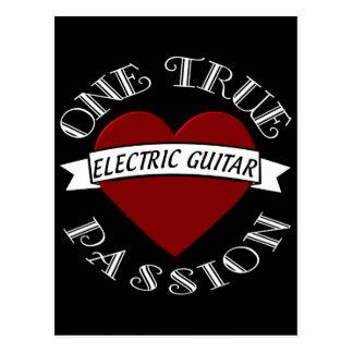 OTP Guitarra elétrica Cartão Postal
