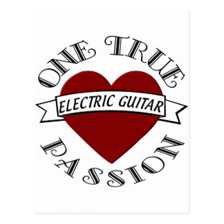 OTP Guitarra elétrica Cartoes Postais