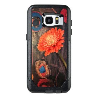 Otterbox floral moderno chique Samsung encaixota