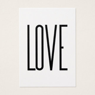 Ou Élégante - amor Cartão De Visitas