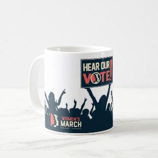 Ouça nossa caneca do voto