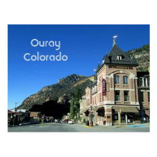 Ouray, cartão de Colorado