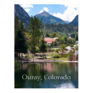 Ouray, cartão do viagem de Colorado