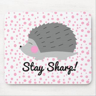 Ouriço afiado Mousepad da estada