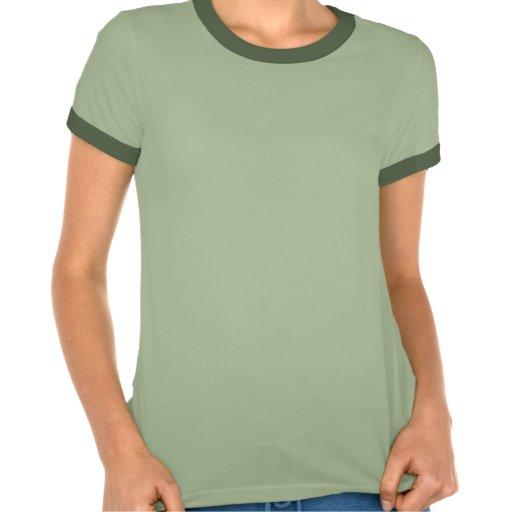 Ouriço bonito camisetas