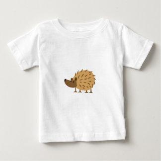 Ouriço da floresta camiseta para bebê