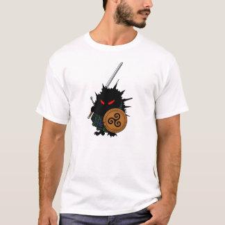 Ouriço das montanhas com espada de Claymore Camiseta