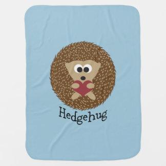 Ouriço de Hedgehug Mantas Para Bebe