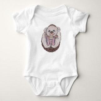 Ouriço do bebê body para bebê
