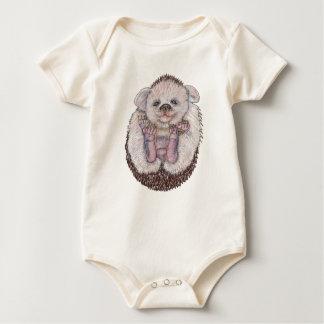 Ouriço do bebê macacãozinho para bebê