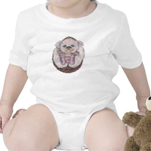 Ouriço do bebê macacão