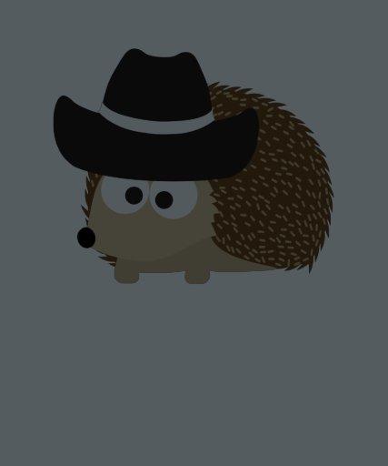 Ouriço do vaqueiro camisetas