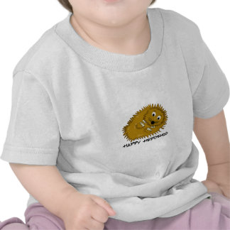 Ouriço feliz t-shirt