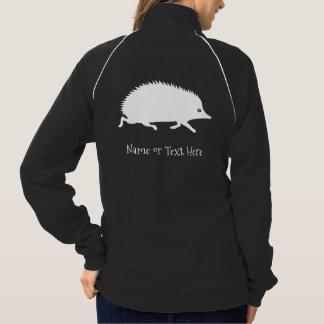 Ouriço pequeno bonito jaqueta com estampa