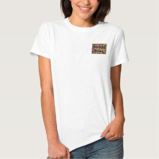 Ouriço temático Prouducts do jardim T-shirts