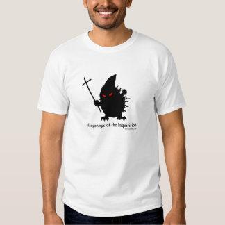 Ouriços da inquisição camiseta