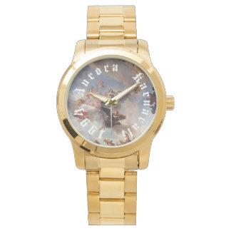 Ouro 1994 do relógio da AURORA KARNAVALI Versalhes