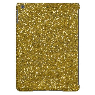 Ouro à moda do brilho capa para iPad air