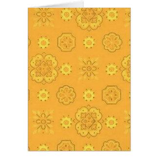Ouro amarelo retro cartoes