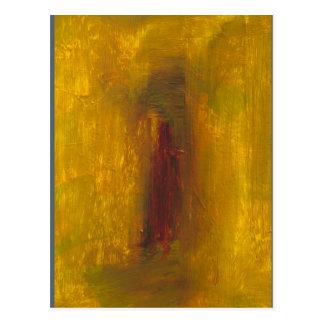 """""""Ouro"""" ao impressão violeta do cartão da homenagem Cartão Postal"""