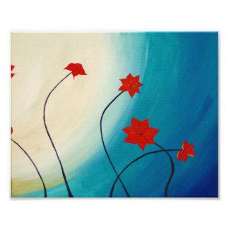 Ouro azul das flores azuis arte de fotos