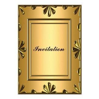 Ouro barato do convite de aniversário