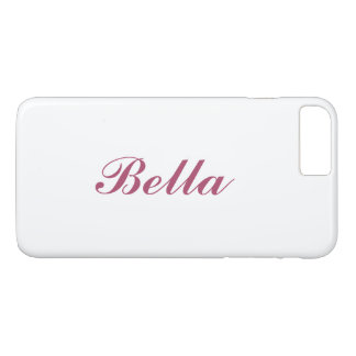 Ouro cor-de-rosa & iPhone nomeado transparente 7 Capa iPhone 7 Plus
