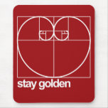 Ouro da estada mouse pad