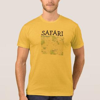 Ouro da urze de Tanzânia do safari T-shirts