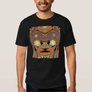 Ouro das cabeças t-shirt
