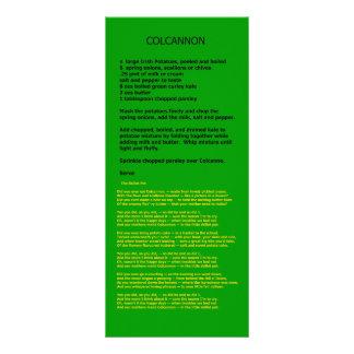 Ouro de Colcannon os presentes de Zazzle do MUSEU Panfleto Personalizado