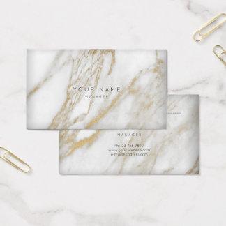 Ouro de mármore cinzento abstrato do cartão da