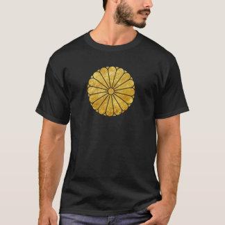 Ouro do falso de segunda-feira do crisântemo de camiseta
