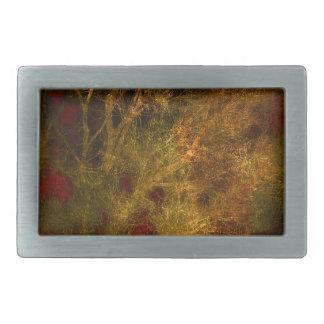 Ouro e abstrato vermelho dos ramos de árvore