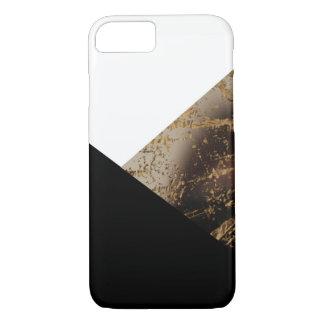 Ouro e capas de iphone pretas