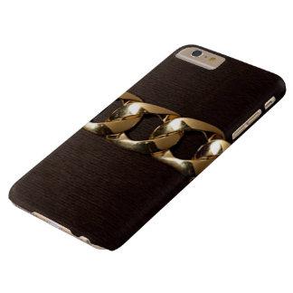 Ouro fino caixa positiva cercada de IPhone 6 Capas iPhone 6 Plus Barely There