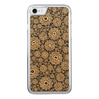 ouro floral trippy (c) capa iPhone 7 carved